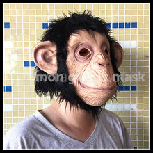 2016 Free shipping Hot Sale Diamond big ears monkey mask gorilla costumes to the West Monkey King Sun Wukong Dragon Ball caps