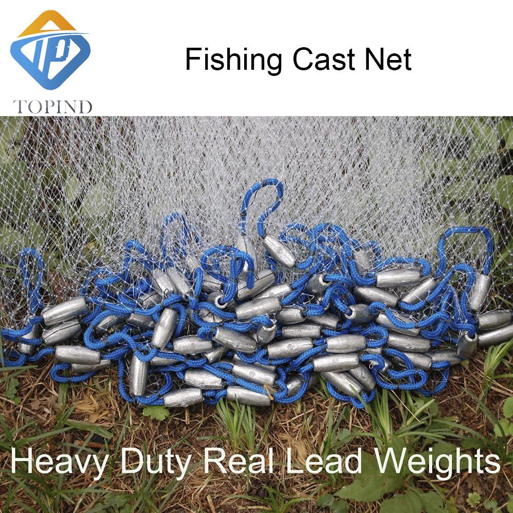 fishing cast net\'s heavy duty lead weight