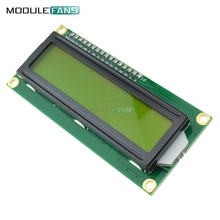 1602 16x2 16 x 2 HD44780 Character LCD Display Module LCM Yellow backlight NEW(China)