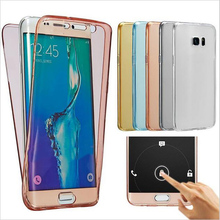 Soft TPU 360 Full body Silicone case for Samsung Galaxy S3 S4 S5 S6 S7 Edge A3 A5 2016 A7 2017 J1 J3 J5 J7 Grand Prime Cases