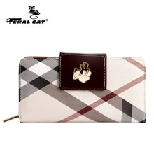 Famous Brand Lady Wallet Stripes Series Wallet Card Holder Women Wallet High Quality Designer()