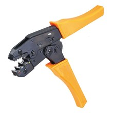 HS-30J wire stripper EUROP STYLE ratchet Crimping tool crimping pliers 0.5-6.0mm2 multi hand tool pliers(China)