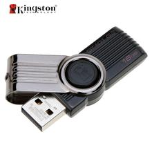 Kingston USB Flash Drive 8GB 16GB 32GB Memory Stick Plastic Mental Swivel Real Capacity Pen Drive DT101G2 Pendrive 8 gb ES Stock(China)