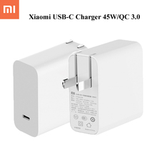 Buy Original Xiaomi Mi USB-C Charger 45W Max Smart Output Type-C Port USB PD 2.0 Quick Charge QC 3.0 MacBook Pro Laptop Tablet for $22.76 in AliExpress store