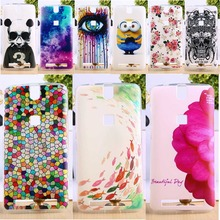 DIY Painted Soft TPU Phone Cover For Elephone P8000 5.5 inch Cases Wholesale and Retail Cell Phone Back Shell Housing Bags