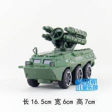 (5pcs/lot) Wholesale Brand New WANGBAO Wheeled Armored Vehicles Series Sound&Light Diecast Metal Pull Back Car Model Toy