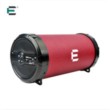 ET Big Bass Outdoor Bluetooth Speaker Wireless Sports Portable Subwoofer Bike Car music PU leather Speaker Radio FM Mp3 player