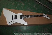 ESP James Hetfield Signature Snakebyte Electric Guitar Snow White with Ebony fretboard,Active Pickups New Arrival