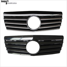 Mercedes S class W140 ABS with chrome  front bumper grille for  benz  S sonderklasse  1991-1999 S280 /300//320/320L/420/500