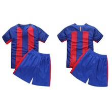 Hot Boys Girls Clothes Kids Football active Clothes sets Cotton Children's Sports clothes soccer Jersey Free shipping