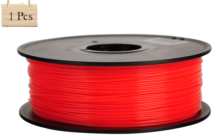 1Roll Filament ABS/PLA Red 3D Printer with Silk Texture 1KG/Roll 1.75MM Filament For 3d pen 3d printer<br>