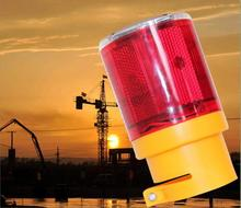 wholesale Solar energy warning lights traffic lights tower crane Airport free shipping