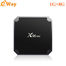 20pcs/lot 1GB/8GB Amlogic S905W Android TV Box Quad Core Dual WIFI Google Play Store 4K Smart TV Set Top Box Media Player(China)