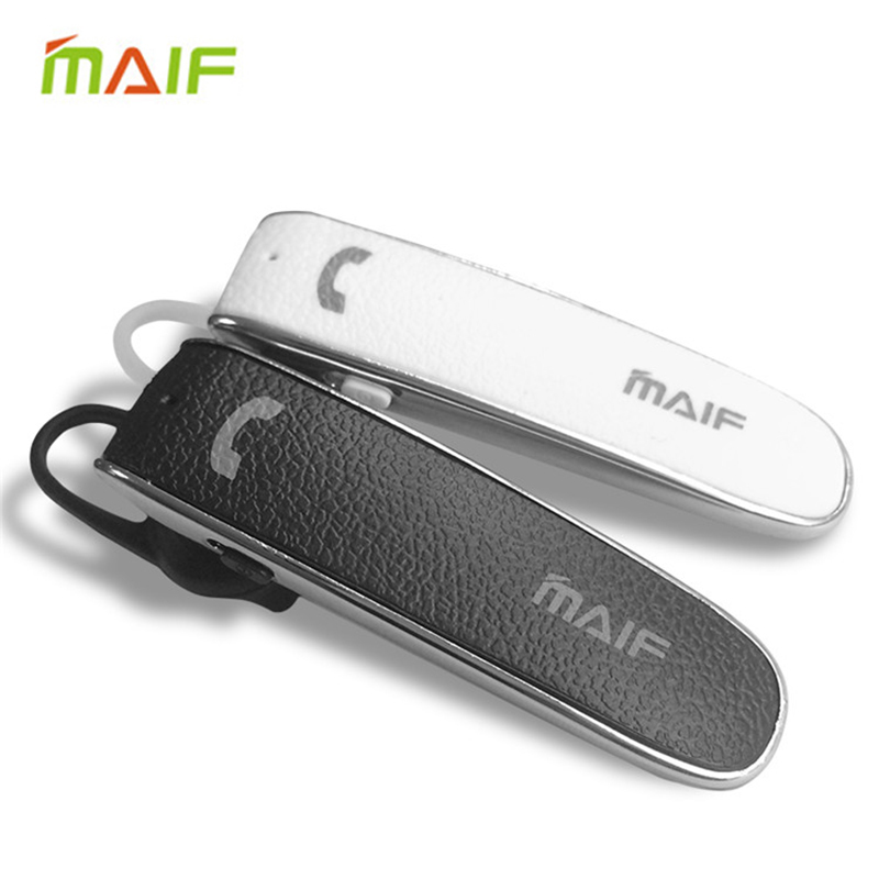 MAIF Wireless Bluetooth Earphone Mini V4.0 Stereo Headdset Music Headphone Universa Earbuds Voice Prompt for iPhone Android<br><br>Aliexpress
