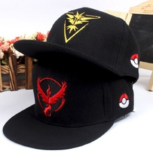 Wholesale Pokemon Go Snapback Cap Trainer Hat