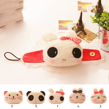 New Kawaii Window Drapery Hooks Cute Curtain Tieback Fastener Poles Cute Animal rabbit/panda/cat Curtain Buckle Tiebacks Holder