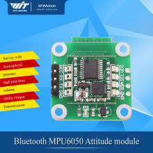 BJY61 MPU6050 attitude sensor angle Accelerometer Gyroscope Bluetooth UART port wireless sensor BWT61(China)