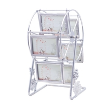 3 Inch Steel Ferris Wheel Photo Frame Table Creative Windmill Photo Frame Set Decorative Product