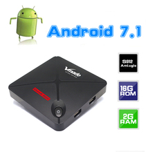Buy Android tv box 7.1 2 ram+16 rom Amlogic S912 Octa core 2.4GHZ wifi 4K HD H.265 HDMI Ethernet for $51.44 in AliExpress store