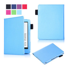 50Pcs All-New Custer PU Leather Case Smart Cover for Amazon New Kindle 2016 Ebook + DHL Shipping