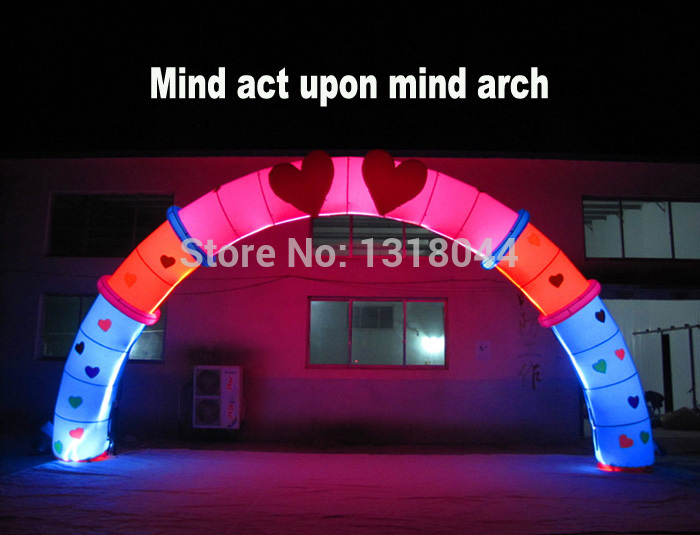 Buy inflatable led lighting wedding arch and get free shipping on buy inflatable led lighting wedding arch and get free shipping on aliexpress junglespirit Images