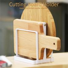 1PC Metal chopping block cutting board rack kitchen shelving rack Drain rag towel rack storage Holders Save Space 3(China)