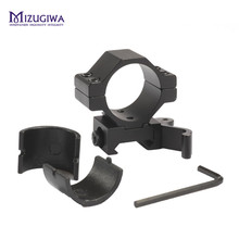 "MIZUGIWA Hunting 30mm / 25.4mm 1"" Quick Release Scope Mount Ring Adapter 20mm Rail Weaver Picatinny QD Flashlight Laser Pistol"
