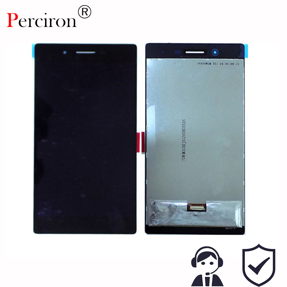 New For Lenovo Tab3 3 7 730 TB3-730 TB3-730X TB3-730F TB3-730M lcd display with Touch Screen glass digitizer full assembly<br>