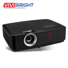 VIVIBRIGHT 3500 ANSI Lumens LED Projector, 1024x768 Pixels. Long Throw Projector for Business, Teaching, Home Film. PRX570L