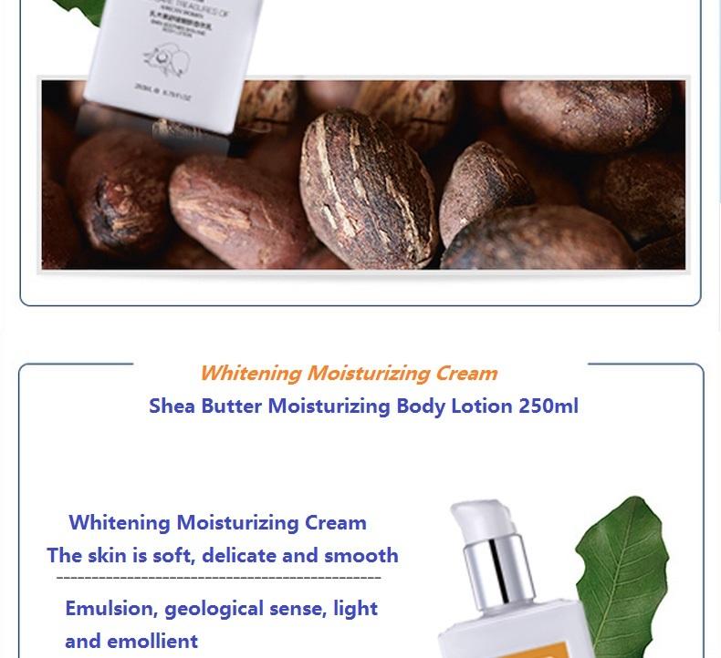 YaFuYan Shea butter Body Lotion men and women Lasting Moisturizing & nourishing Replenishment Light incense washing product 12