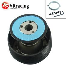 VR RACING - Steering Wheel Quick Release Hub Adapter Snap Off Boss kit Black for Mitsubishi VR-HUB15(China)