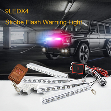 car-styling led Ambulance Police light Car Truck Emergency Light Flashing Firemen Lights DC 12V Strobe Warning light
