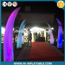 hot selling beautiful inflatable pillar for advertising