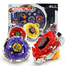 4pcs/set Spinning Top Beyblade Burs Launcher Arena Metal Fight Battle Fusion Classic Toys AA26 With Original Box For Kid Gift(China)