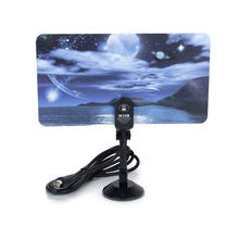 Digital TV Antenna 35dBi TV DTV HD Signal Flat Indoor Antenna 360 Degree- Moon Lake(China)