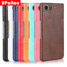 UPaitou for BlackBerry KEYone Case Luxury Crocodile Snake Print Leather Case Back Cover for BlackBerry Mercury Cases Phone Capa(China)