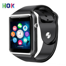1.54 Inch Bluetooth A1 Smart Watch Smartwatch Android With Camera Sim TF Card Whatsapp Facebook Russian Watch For Android IOS