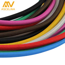 Wholesale Price 3m/lot 2x0.75 Color Twisted Wire Twisted Cable Retro Braided Electrical Wire Fabric Wire Eletrical Wire cable(China)
