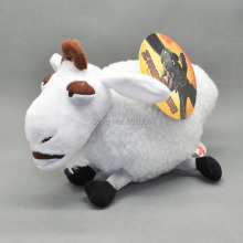 Free Shipping How To Train Your Dragon Toothless White Sheep Plush Toy Doll 8""