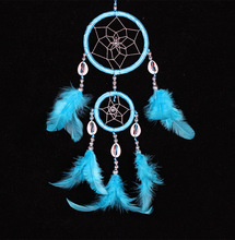 Dream Catcher Hangings Home Decor Native America Indian Feather Dreamcatcher christmas tree ornament hanging decoration