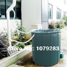 50L( D40*H40cm ) Compressible rain barrel collecting rain water irrigation in garden folding bucket(China)