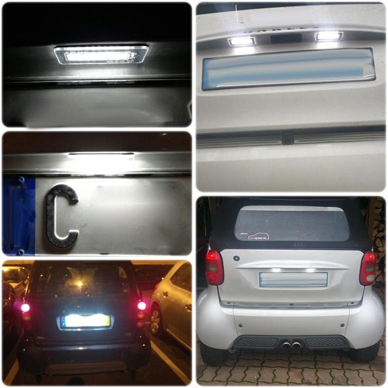2x Genuine Mercedes Smart ForTwo W451 Chrome Cup Insert Exterior Door Handles
