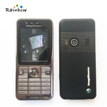 K530i Original Sony Ericsson K530 Unlocked Cell Phone 2MP Camera Bluetooth Free Shipping Refurbished(China)