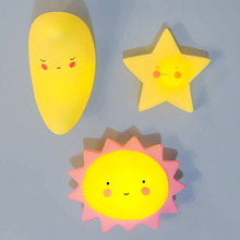 2017 New Product Moon Star Sun LED Night Light Energy Saving Creative Cartoon Festival Gift for Everywhere 2 Pack(China)