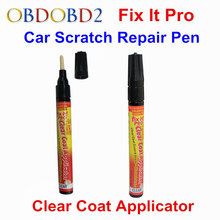 Fix It Pro Resist Water Mend Car Scratch Repair Remover Paint Pen Simoniz Fix It Pro Clear Coat Applicator For All Car Any Color(China)