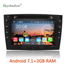 Android 7.1 2G RAM Car multimedia DVD Player GPS map OBD2 camera tv Radio For Renault Megane 2 ii 2003 -2006 2007 2008 2009 2010