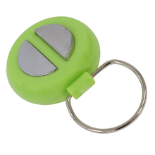 Electric Trick Shock Gag Prank Toys Tremor Buzzer, Green and Silver(China)
