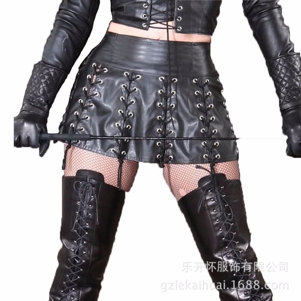 2018 Women Faux Leather Latex Sexy Costumes Porn langerie Erotic Lingerie Sexy Underwear Bobydolls Nuisette Lenceria A10751