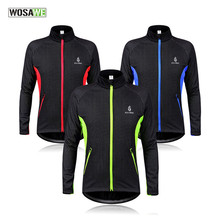 Thermal Cycling Jacket Winter Fleece Keep Warm Bicycle Clothing Windproof Sports Coat MTB Mountain Bike Cycling Bicycle Clothing(China)