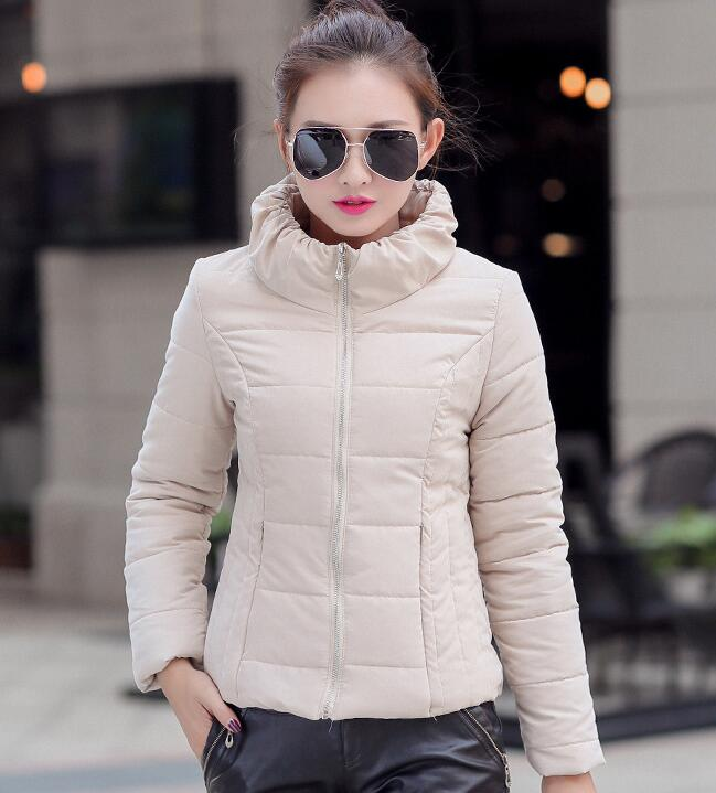 Cheap wholesale 2016 Spring new Hot selling women down cotton Fashion Casual Peach skin velvet Cute Girls Short JacketÎäåæäà è àêñåññóàðû<br><br><br>Aliexpress